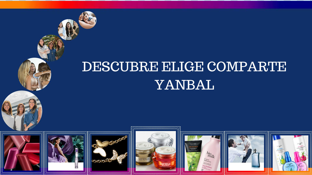Descubre Elige Comparte Yanbal