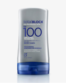 Protector Solar Total Block SPF 100