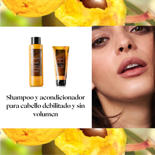 Shampoo y Acondicionador BODY SPA Lúcuma