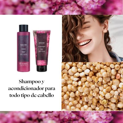 Shampoo y Acondicionador BODY SPA Quinua